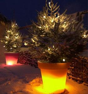 cr ez une ambiance festive pour no l id es lumineuses sur jardin chic jardinchic le blog. Black Bedroom Furniture Sets. Home Design Ideas
