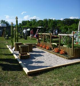 Concours laurent perrier au salon jardins en f te et le gagnant est jardinchic le blog for Prix stand salon