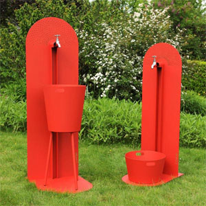 laorus r invente la fontaine de jardin fontaine moderne tendance fonctionnelle jardinchic. Black Bedroom Furniture Sets. Home Design Ideas