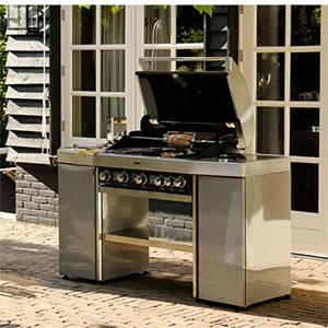 Sp ciale kitchen outdoor la cuisine ciel ouvert - Barbecue infrarouge gaz ...