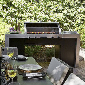 Sp ciale kitchen outdoor la cuisine ciel ouvert for Cuisine porsche design