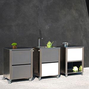 sp ciale kitchen outdoor la cuisine ciel ouvert le blog jardinchic. Black Bedroom Furniture Sets. Home Design Ideas