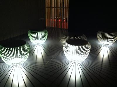 Design week milan 2013 reportage du salon du meuble by for Luminaire pour terrasse