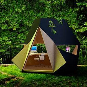 tetra shed concept de bureau de jardin 100 design jardinchic le blog. Black Bedroom Furniture Sets. Home Design Ideas