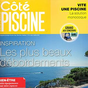 Couverture Côté Piscine Juin Juillet 2015