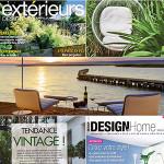 La Presse en Parle: JardinChic dans Extérieurs Design & Design@Home
