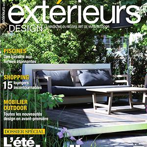 Extérieurs Design Couverture Juillet / Aout 2015